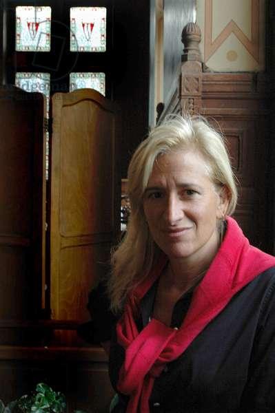 Portrait of Melissa Bank, American writer in September 2006.