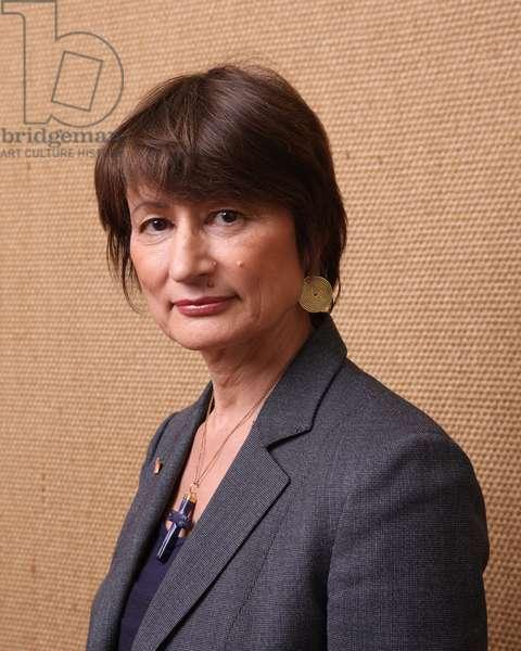 Portrait de l'ecrivain francaise Catherine Millet, 2009