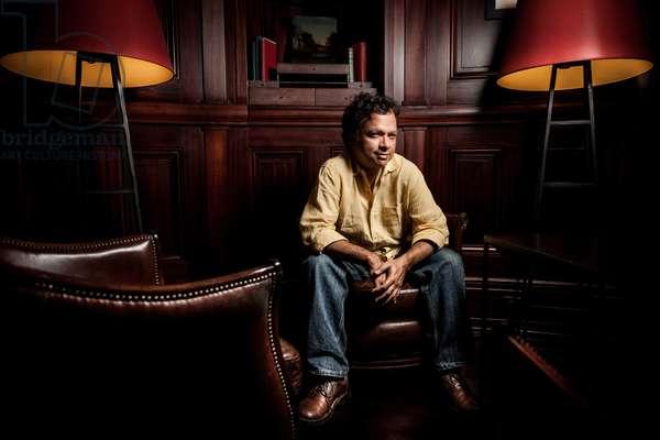 Portrait of Vikram Chandra (screen writer) 18/09/2014