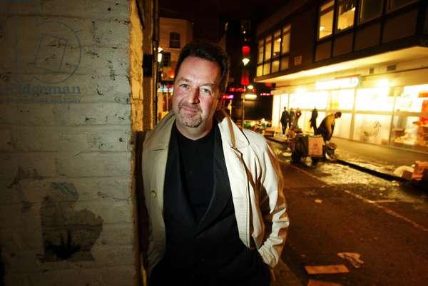 Portrait de Chris Palin , artiste