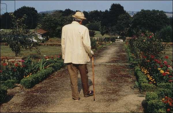 Portrait of Gilles Deleuze (philosopher) 1994