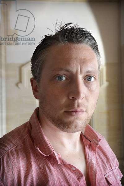 Portrait de l'ecrivain canadien Matt Lennox, 2014 Photographie