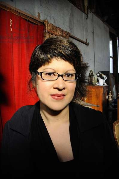 Portrait of Canadian writer Nancy Lee. October 2011.