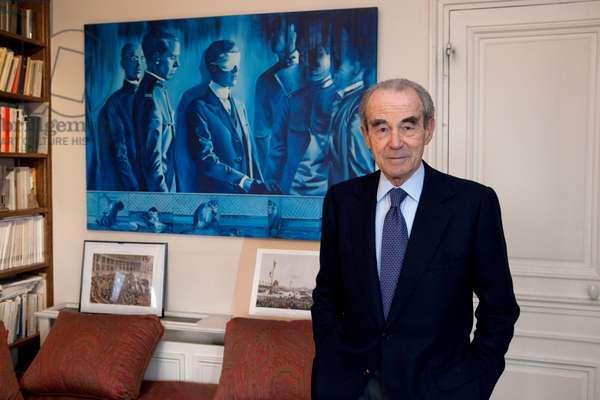 Portrait of Robert Badinter (lawyer) 26/01/2011