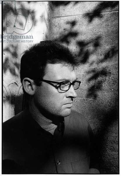 Portrait of Christoph Peters, Paris, 2001.