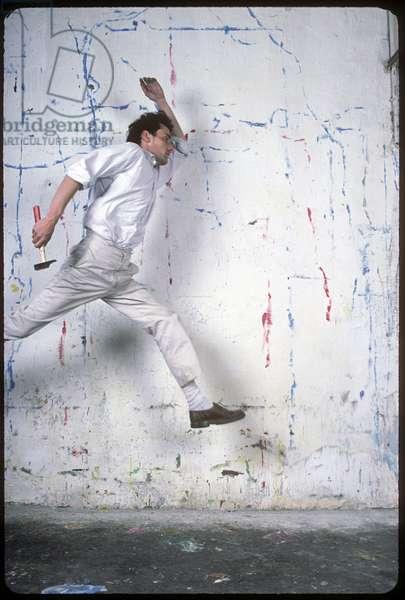 Portrait of Jean Charles (Jean-Charles) Blais (artist) 1984