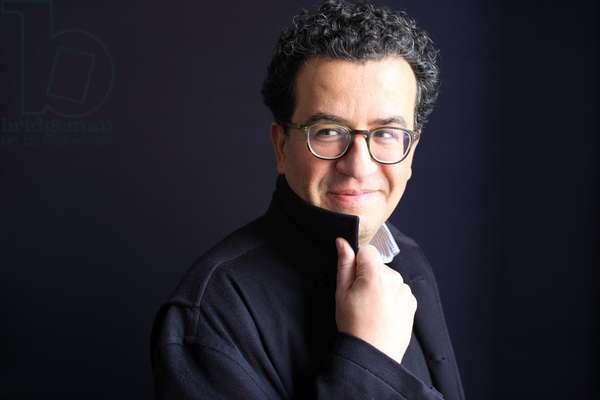 Portrait of Hisham Matar 20/03/2017