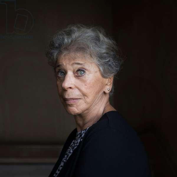 Portrait of Vivian Gornick, 20th September 2018 (photo)