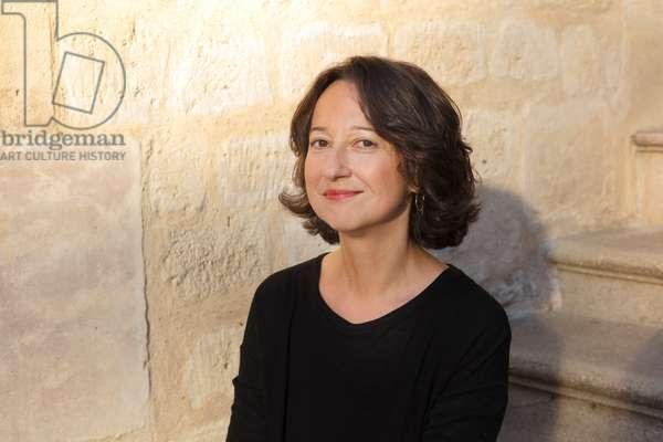 Portrait of Muriel Barbery 16/10/2018