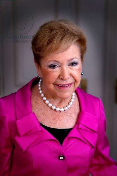 Portrait of Mary Higgins Clark - May 2011