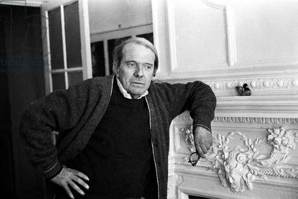Portrait of Gilles Deleuze (philosopher) 1986