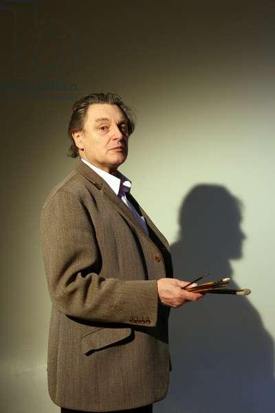 Portrait of Gerard Garouste (artist) 25/01/2010