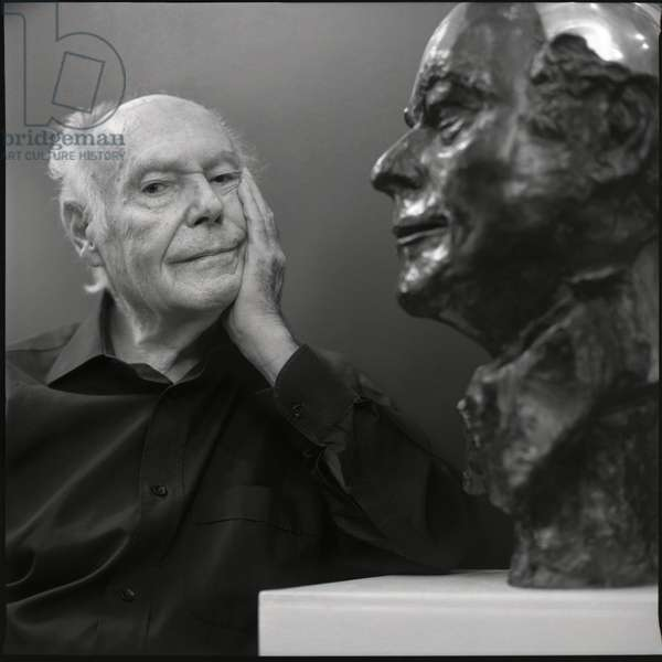 Portrait of Rene de Obaldia (playwright, poet) - June 2009