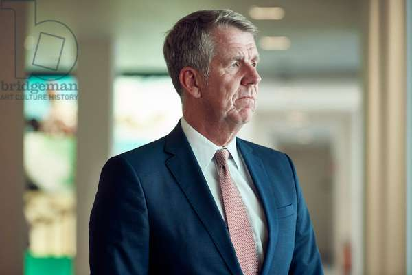 Portrait of Friedrich Joussen (Tui Group CEO) at Brussels Airport 27/08/2018