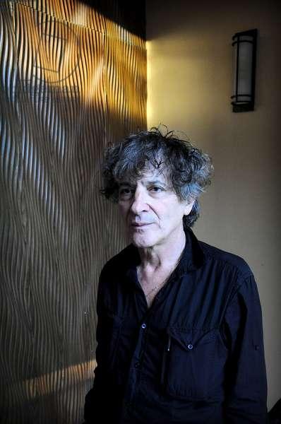 Portrait of Tunisian writer Hubert Haddad. January 2012.