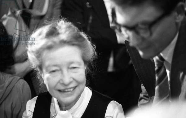 De BEAUVOIR Simone - Date: 19770621