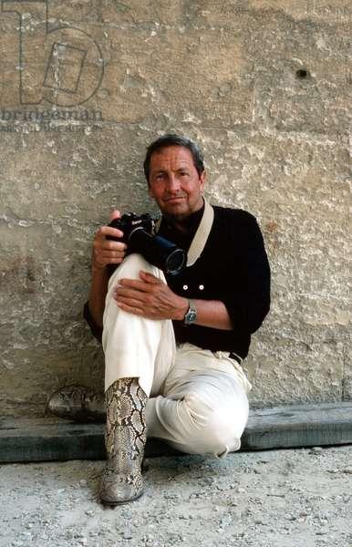 Portrait of Robert (Milton Ernest) Rauschenberg (artist) 1983