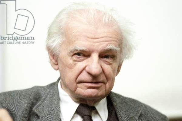 Portrait of Yves Bonnefoy 2000