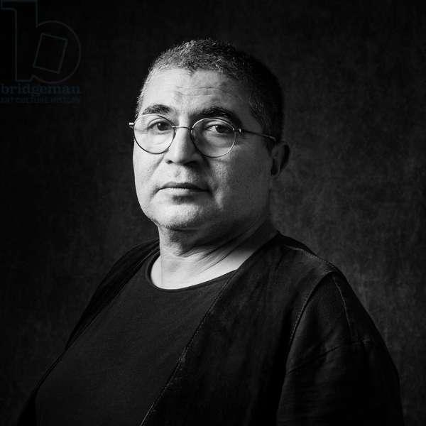 Portrait of Mahi Binebine (artist) 24/03/2017