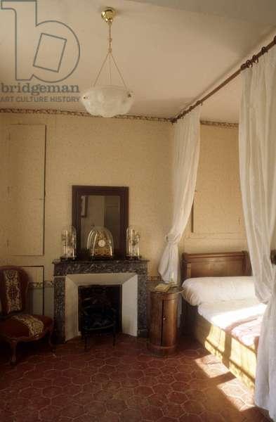 PROUST Marcel (maison house) - La chambre de Marcel Proust dans la maison de Tante Leonie - Date: 19971001