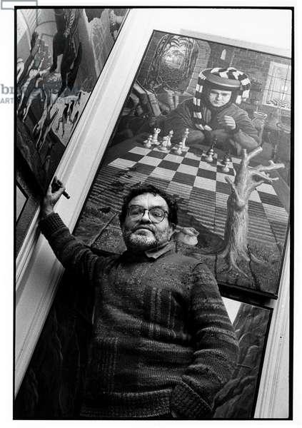 Fernando Arrabal Paris 1990