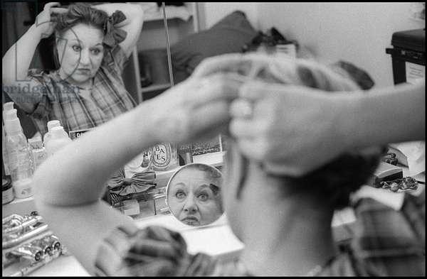 Portrait of Clemence Massart (circus artist) 2009