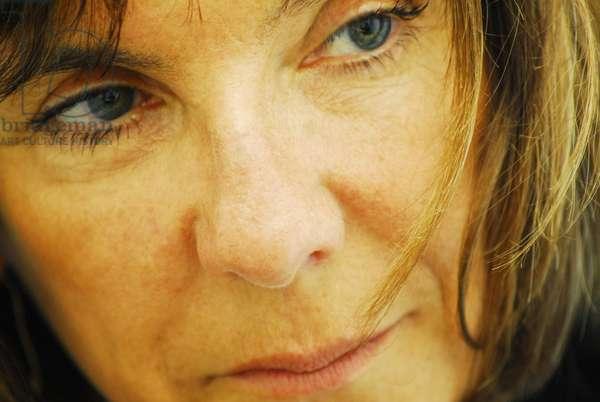 Portrait of Sophie Calle (artist) 2010