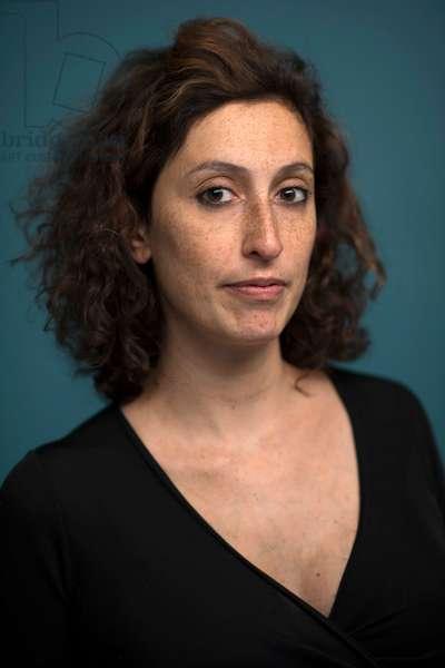 Portrait of Olivia Elkaim (journalist) 03/12/2014