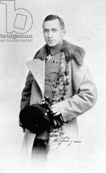 JUNGER Ernst en soldat pendant la premiere guerre mondiale en 1915