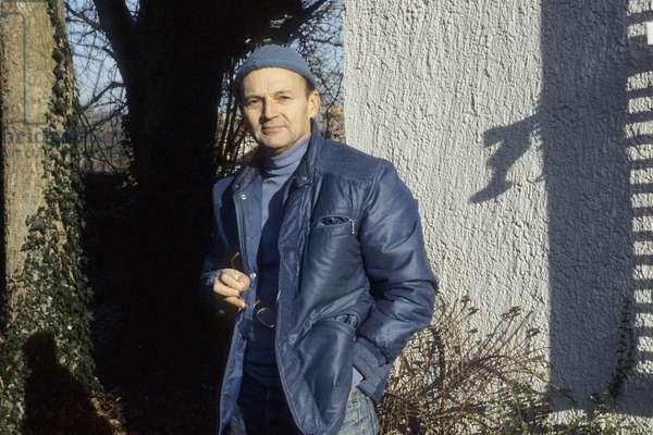 Portrait of Michel Tournier - December 1983