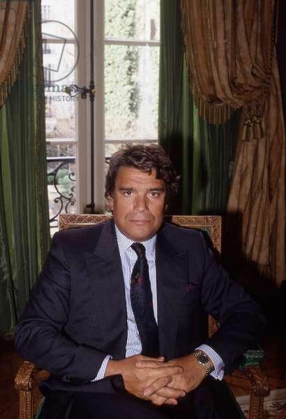 Portrait de Bernard Tapie en 1990 Photographie