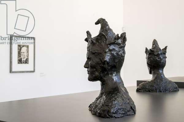 Pablo PICASSO (1881-1973), Le Fou, Paris, 1905, Bronze, test for the merchant Ambroise Vollard, Musee national Picasso, Paris