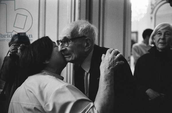 Portrait of Claude Levi-Strauss (Levi Strauss) (Maison de l'Amerique Latine) - 06/06/1994