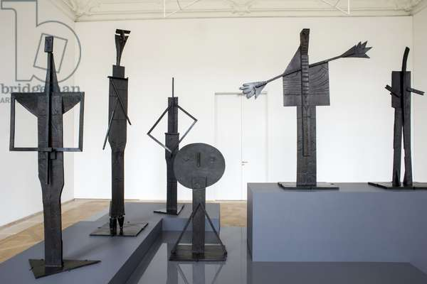 Pablo PICASSO (1881-1973), Les Baigneurs: la plongeuse, Bronze, summer 1956, Musee National Picasso, Paris