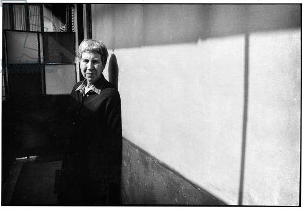 Natalia Ginzburg, Rome 1989