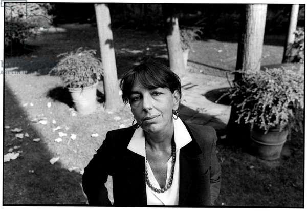 Portrait of Elisabetta Rasy, Paris, 1998.