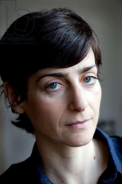 Portrait of Valerie Mrejen (artist) 01/02/2012