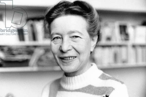 Simone De BEAUVOIR - Date : 19690801