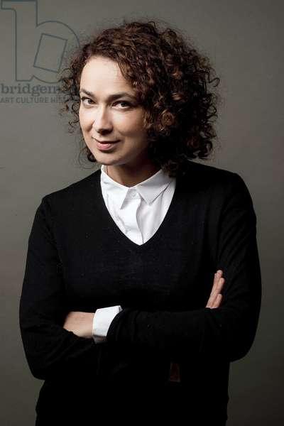 Portrait of Delphine Horvilleur (journalist, rabbi) 06/10/2015