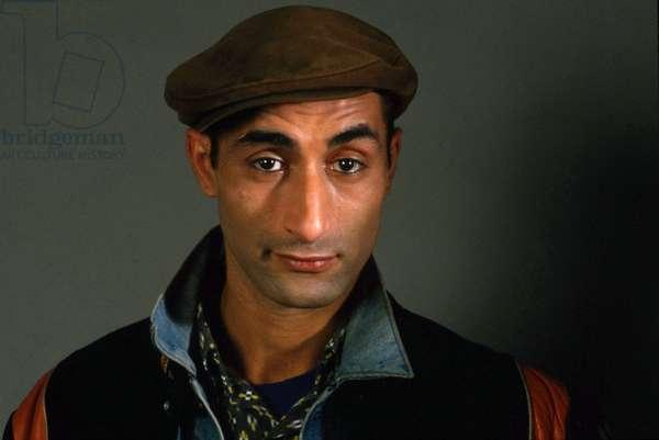 Portrait of the artist Farid Chopel, 1986 Photography