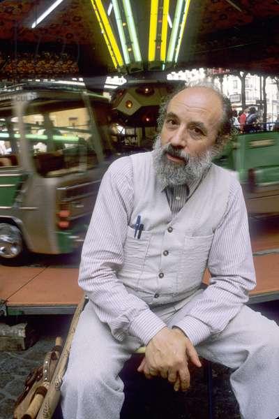Portrait of Michel Butor - October 1985