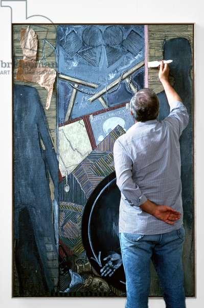 Portrait of Jasper Johns, Jr. (artist) 2000
