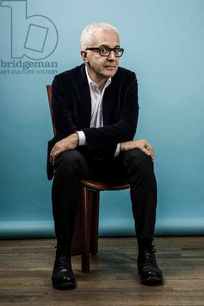 Portrait of Charles Dantzig (publisher) 28/03/2017