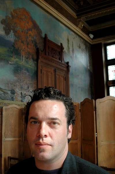 Portrait of Joseph Boyden in September 2006.