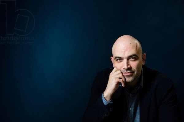 Portrait of Roberto Saviano (journalist) - October 2018