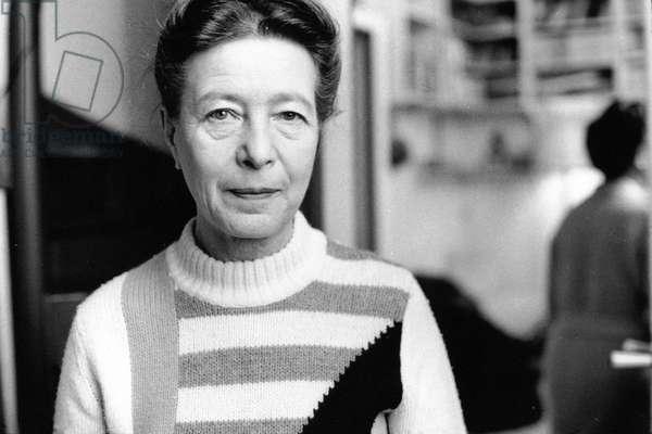 Simone De BEAUVOIR - Date : 19690801