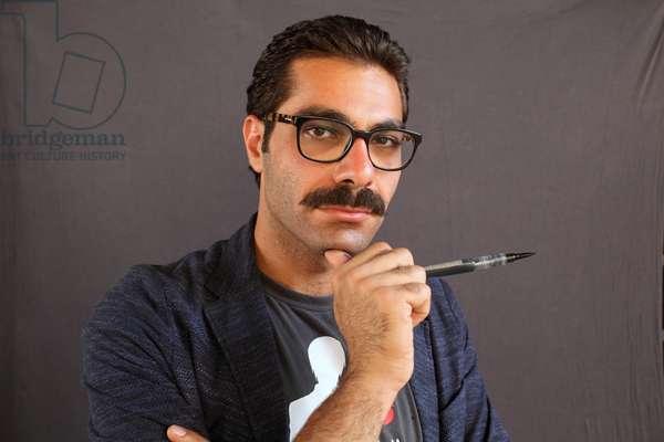 Portrait of Hamid Sulaiman (artist) 17/06/2018