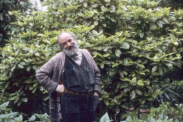 Portrait of Michel Butor 1983