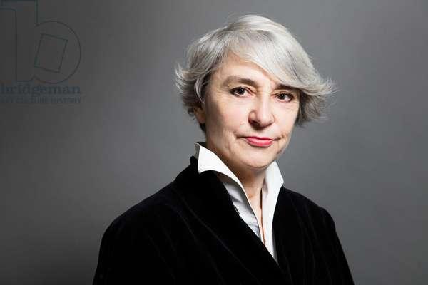 Portrait of Nathalie Heinich (sociologist) 21/02/2017