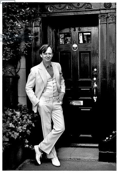Portrait of Tom Wolfe (born Thomas Kennerly Wolfe) 1973